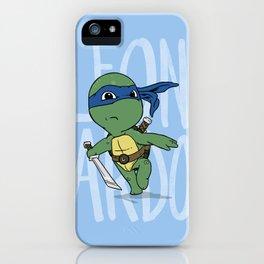 TMNT: Leonardo (Cute & Dangerous) iPhone Case