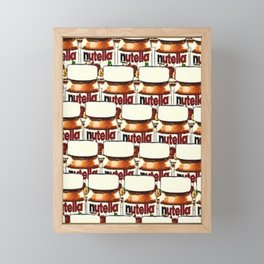 Nutella-76 Framed Mini Art Print