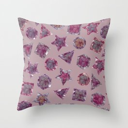 GEM#5 Throw Pillow