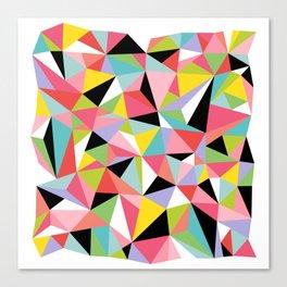Geometric Jane Canvas Print