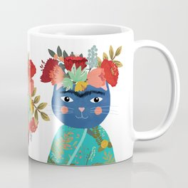 Frida Cathlo Coffee Mug