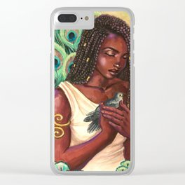 Hera's Compassion Clear iPhone Case