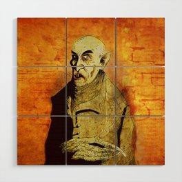 Nosferatu Wood Wall Art