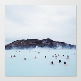 The Blue Lagoon Canvas Print