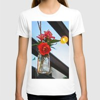 outdoor T-shirts featuring Outdoor Decor by Kim Ramage