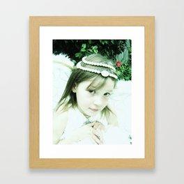 Littlest Angel Framed Art Print