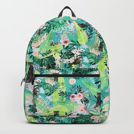 Jungle Black Cat Backpack