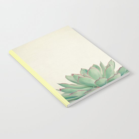 Echeveria Notebook