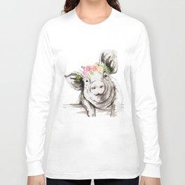 Petunia Pig Long Sleeve T-shirt