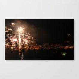 Hazy Celebrations Canvas Print