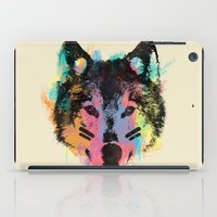 child iPad Cases featuring Wolf Child by Zach Terrell