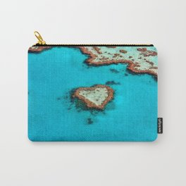 Heart Coral Reef - Queensland, Australia Carry-All Pouch