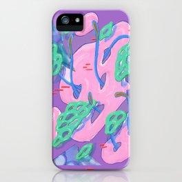 Alien Organism 14 iPhone Case