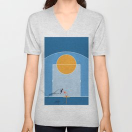 Shoot Hoops  Unisex V-Neck