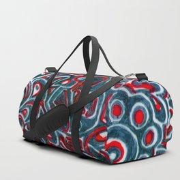 Jack Teal/Red Duffle Bag