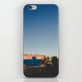 Orange and Blue iPhone Skin