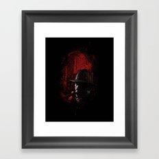The Target Framed Art Print