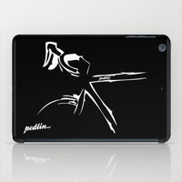 bike iPad Cases featuring Bike by Pedlin