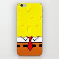 spongebob iPhone & iPod Skins featuring Spongebob  by Andrian Kembara