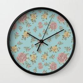 Mantón Azul Wall Clock