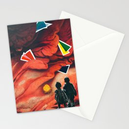 The maze of meat Stationery Cards