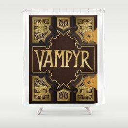 Vampyr Book -- Buffy the Vampire Slayer Shower Curtain