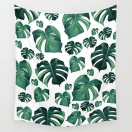 Tropical Monstera Pattern #3 #tropical #decor #art #society6 Wall Tapestry