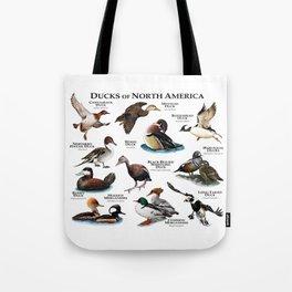 Ducks of North America Tote Bag