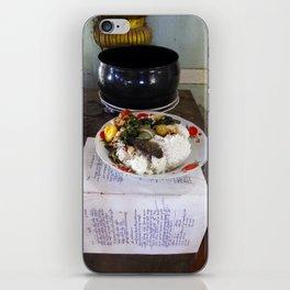Buddist Food Offering iPhone Skin