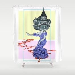 Murder House Shower Curtain
