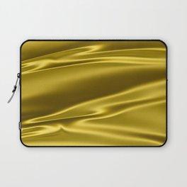 Gold satin texture Laptop Sleeve