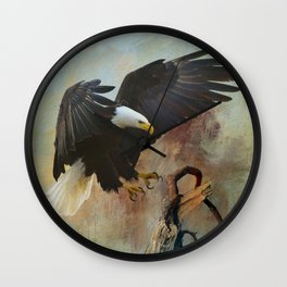 Eagle's Landing Wall Clock