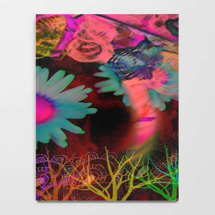 Tripping Daisies Notebook