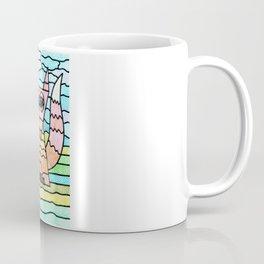 Weird Animals 2: Striped Fox Coffee Mug