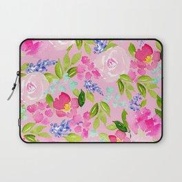English Cottage Garden Laptop Sleeve