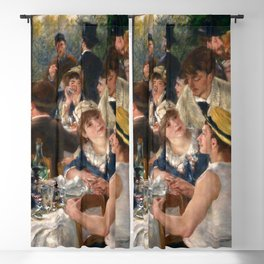Pierre-Auguste Renoir - Luncheon of the Boating Party Blackout Curtain