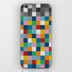 Colour Block with Topper #2 iPhone & iPod Skin
