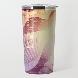 DNA Medical Science and Biotech Chemistry Genes Travel Mug