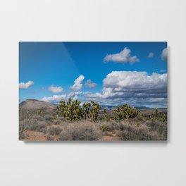 Joshua Spring Blossoms 6649 - Desert Southwest Metal Print