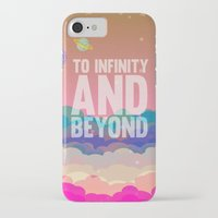 buzz lightyear iPhone & iPod Cases featuring to infinity and beyond.. toy story.. buzz lightyear by studiomarshallarts