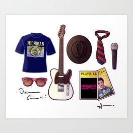 Darren's things Art Print