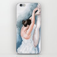 ballet iPhone & iPod Skins featuring Ballet by rchaem