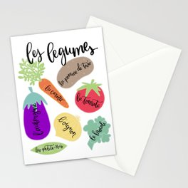 Les Legumes Stationery Cards