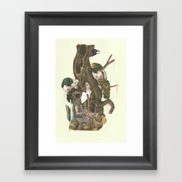 The Unleashed power of the Atom has changed everything Framed Art Print