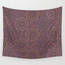 Autumn leaf pattern 1d Wall Tapestry