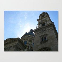 St. Peter's Basilica, Budapest 2011 Canvas Print