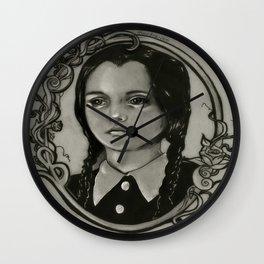 Wednesday Addams Wall Clock