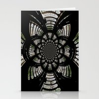fractal Stationery Cards featuring Fractal by Aaron Carberry