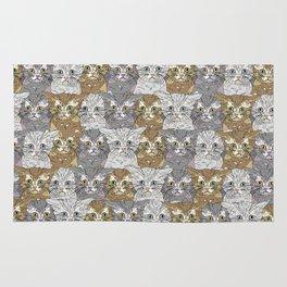Kitties Galore Pattern Rug