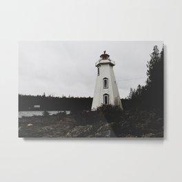 Big Tub Lighthouse Metal Print